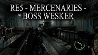 getlinkyoutube.com-Boss Wesker - Resident Evil 5 - Mercenaries Mansion - 150 combo