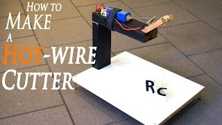 getlinkyoutube.com-DIY Hot Wire Cutter for Plexiglass, Carboard and Foam - RCLifeOn