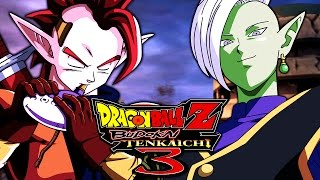 Edgy Mohawk Teens!! Tapion VS Zamasu | Dragon Ball Z: Budokai Tenkaichi 4 BETA