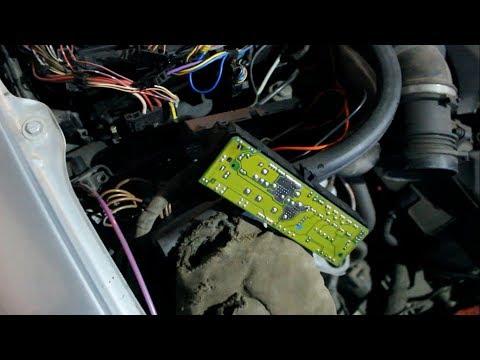 Mercedes W210 Собрал, Не смог завести, сгорел диод реле стартера, борода электрики