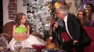 getlinkyoutube.com-Amira Willighagen - Du côté de chez Dave - TV Show France 3 - 21 December 2014