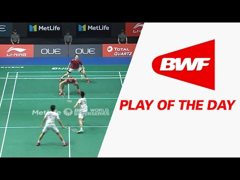 Play Of The Day | Badminton SF - OUE Singapore Open 2017