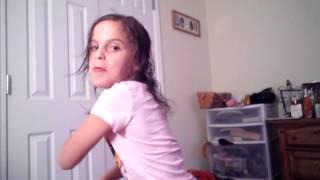 My little sister dancing