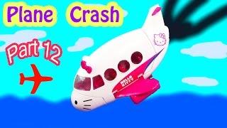 getlinkyoutube.com-MLP Airport - Plane Crash - My Little Pony Travel Part 12 Apple Jack Bloom Series Video