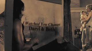 getlinkyoutube.com-Daryl & Beth || I Watched You Change