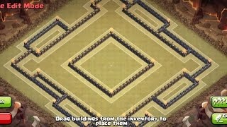 getlinkyoutube.com-Clash Of Clans | TH 10 War/Trophy Base Anti Gowipe - 275 walls
