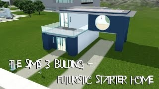 getlinkyoutube.com-THE SIMS 3 BUILDING - Futuristic Starter Home