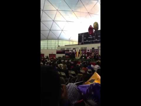 Corey Booker at 2013 Rutgers Nursing Graduation Part 1
