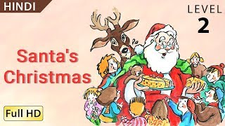 "getlinkyoutube.com-Santa's Christmas: Learn Hindi with subtitles - Story for Children ""BookBox.com"""