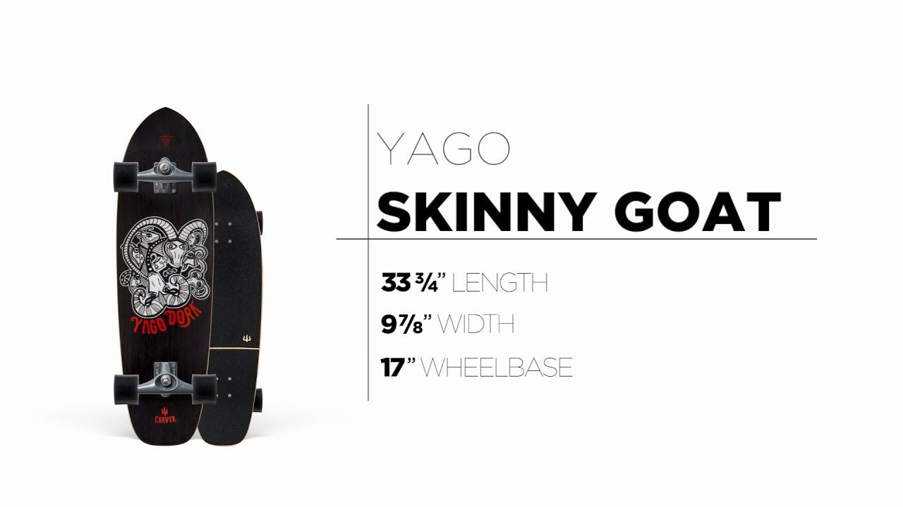 33.75″ Yago Skinny Goat