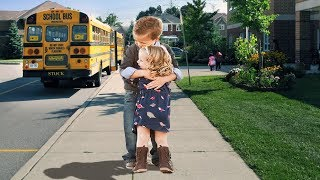 Adorable-Babies-Wait-For-Big-BrotherSister-At-School-Bus-Best-Babies-Video-Compilation width=