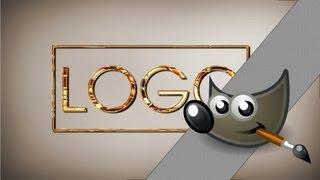 getlinkyoutube.com-Jak zrobić logo z interfejsu gimpa? Gimp poradnik
