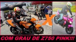 getlinkyoutube.com-BKING DO TIOZAO KLE621 TOMANDO PAU DE Z750 NA PISTA DE ARRANCADA - SERGIO SILVA R1