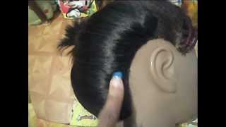 getlinkyoutube.com-Invisible Hairline Tutorial (finally)