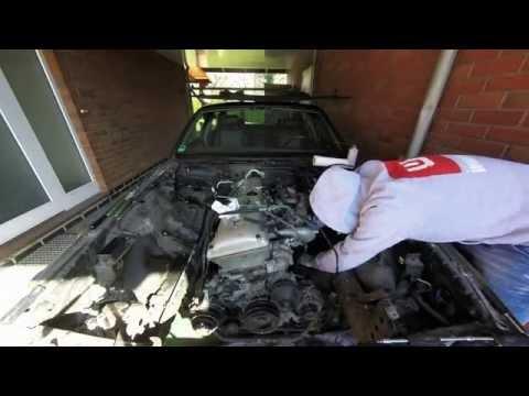 Engine removal Jaguar XJ6 X300