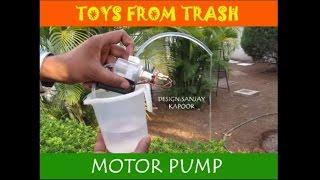Motor Pump | Hindi | Resembles a real life pump!