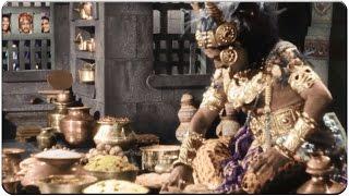 S V Ranga Rao Eating Total Marriage Food Hilarious Comedy Scene || Mayabazar Movie