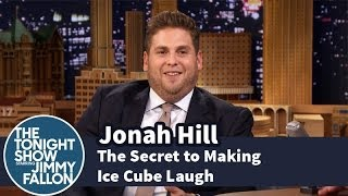 getlinkyoutube.com-Jonah Hill Reveals the Secret to Making Ice Cube Laugh