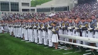 West Point 2016 Graduation Closing Moments & Celebration