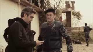 getlinkyoutube.com-أقوى مشاهد وادي الذئاب الجزء التاسع : الراية السوداء تنقذ مراد علمدار من يد داعش HD