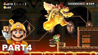 getlinkyoutube.com-スーパーマリオメーカー (Super Mario Maker) - 10人マリオチャレンジ part4