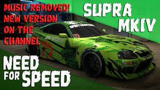 getlinkyoutube.com-Need for Speed 2015 [PS4] - Toyota Supra Customization