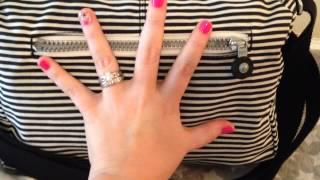Packing Video/Review: Kipling RETH Bag!