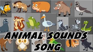 getlinkyoutube.com-Animal Sound Song | These Are The Sounds That Animals Make |Rhymes By PlayTime