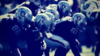 Raiders Offensive Line Highlights!   