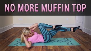 getlinkyoutube.com-5 Minute Muffin Top Workout to Lose Belly Fat