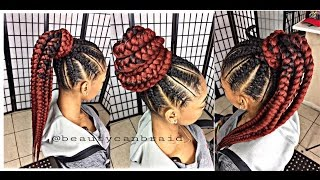 getlinkyoutube.com-#215. FEED IN PONYTAIL
