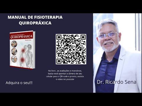Livro manual de fisioterapia Quiropráxica