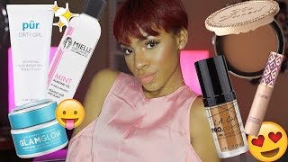 getlinkyoutube.com-JANUARY FAVORITES: LA Girl Foundation, Travel Skincare, Shape Tape, & More! ▸ VICKYLOGAN