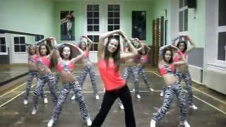 getlinkyoutube.com-Shakira - Rabiosa Zumba