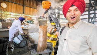 INDIAN FOOD HEAVEN at the BIGGEST MEGA KITCHEN 2018! AMAZING TRAVEL DOCUMENTARY in the GOLDEN TEMPLE width=