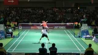 getlinkyoutube.com-[Highlights] 2013 Australian Open QF Lee Chong Wei vs Bin Qiao