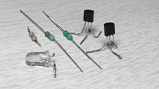 How to make (simple circuit) Touch sensor and fire sensor
