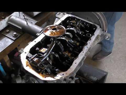 Часть1.Последствия длительной работы двигателя с пробитой прокладкой головки блока цилиндров