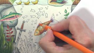 getlinkyoutube.com-Colouring Tutorial: Colour with Peta. Duck Pond, Part 4.