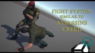 getlinkyoutube.com-Unity 5 Tutorial Fight System Similar to Assassins Creed Part 1