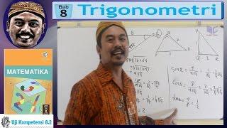 sin cos tan , trigonometri sma kelas 10 bse matematika k13 uk 8 2 pembahasan no 01 a
