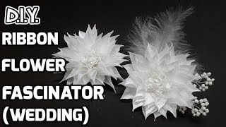 D.I.Y. Ribbon Flower Fascinator | MyInDulzens