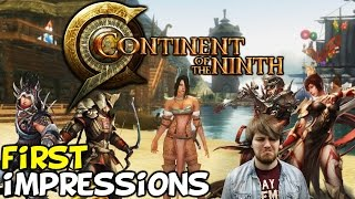 "getlinkyoutube.com-Continent Of The Ninth Seal First Impressions ""Is It Worth Playing?"""