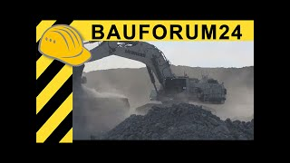 getlinkyoutube.com-Liebherr R 9150 Mining Excavator - Walkaround, Facts & Details - Bauforum24 MINExpo Report