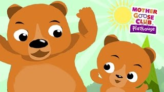 getlinkyoutube.com-Teddy Bear, Teddy Bear | Mother Goose Club Playhouse Kids Song