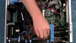 getlinkyoutube.com-Adding a Hard Drive to a Dell Dimension