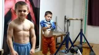 getlinkyoutube.com-Kids training rutine