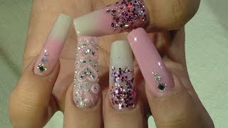 getlinkyoutube.com-San Valentin Nail Design - Natos Nails - Uñas Acrilicas