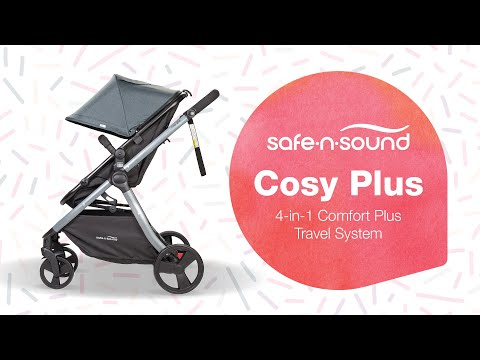 Safe-n-Sound 4 in 1 Cosy Plus Stroller