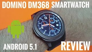 "getlinkyoutube.com-DM368 3G Smartwatch ⌚REVIEW - 1.39"" Amoled Screen, Android 5.1 - Cool China Watch!"